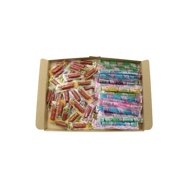 駄菓子 詰め合わせ (全国送料無料) おかしのマーチ おやつカルパス(50コ) & こんにゃくゼリー(30コ)セット メール便 (omtmb5416)
