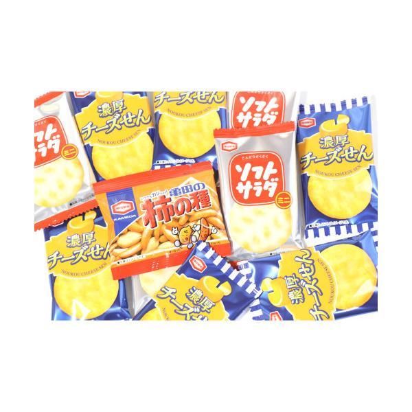 詰め合わせ お菓子 (全国送料無料) アジカル 柿の種ミニ&濃厚チーズせん&ソフトサラダミニ セット (3種・計32個) おかしのマーチ メール便 (omtmb6607)