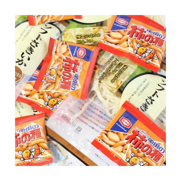 お菓子 詰め合わせ(全国送料無料)おつまみ定番!ソフトさきいか(6コ)・柿の種小袋(10コ)おかしのマーチ メール便(omtmb6719)