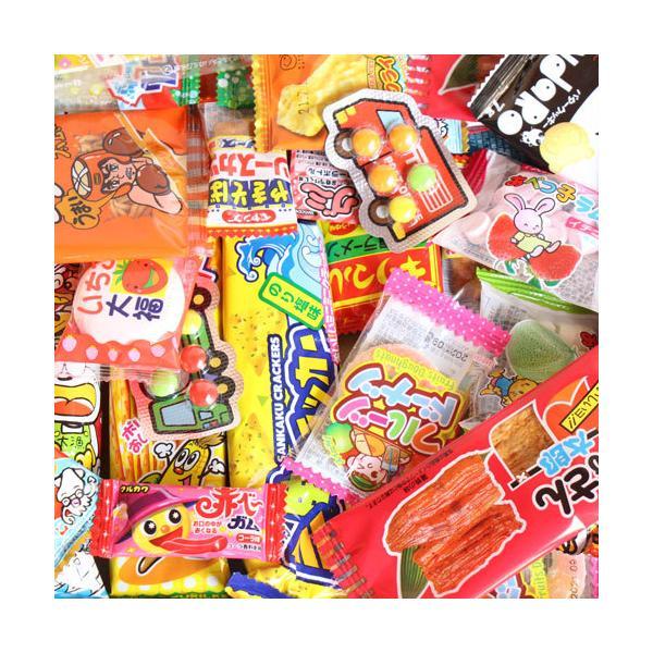 お菓子 詰め合わせ(全国送料無料)1500円ぽっきり!あれこれ食べたい!こども駄菓子バラエティセットA おかしのマーチ メール便(omtmb7089)