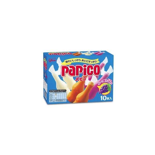 発泡梱包・パピコ(マルチパック)8箱入り 江崎グリコ