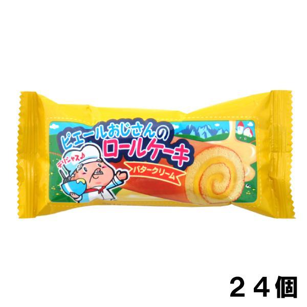 やおきん ロールケーキ バタークリーム 18g (24個)