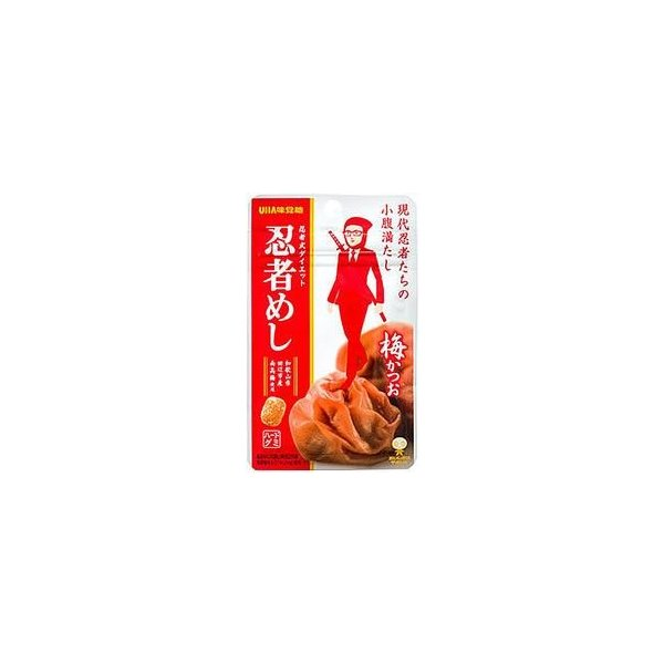 UHA味覚糖忍者めし梅かつお20g×10袋入