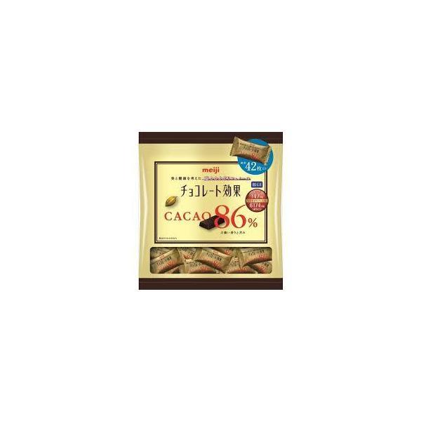 明治 チョコレート効果カカオ86%大袋 210g×12袋入 こちらの商品は夏季期間中クール便でのお届けとなり別途300円かかります。