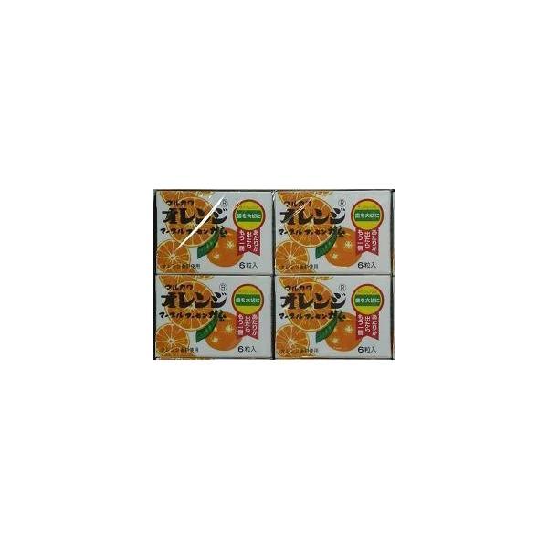 丸川製菓マルカワオレンジマーブルガム6粒×33個入