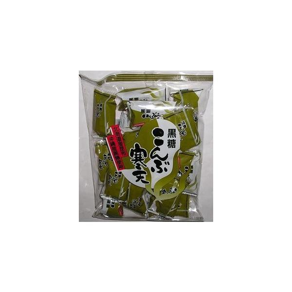 小林製菓黒糖こんぶ寒天210g×12袋入|okasirenjya