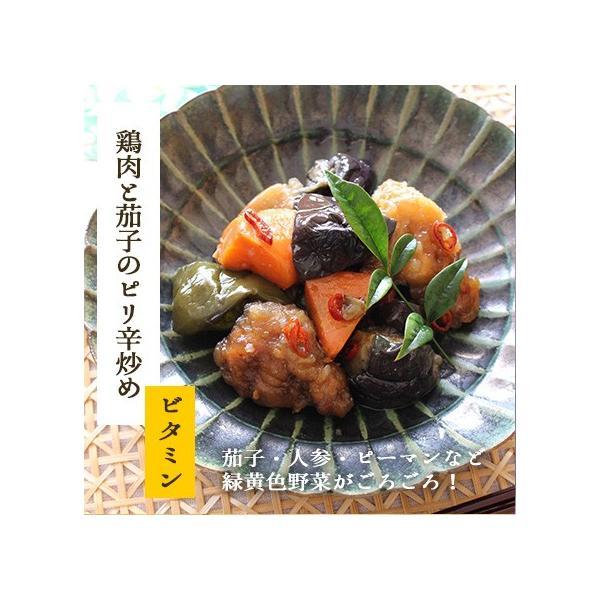 お試しセット 8種類 惣菜 セット (お試し おかず 惣菜 煮物 国産 無添加 ご飯 初めて ポイント 消化  送料無料) okawari 07
