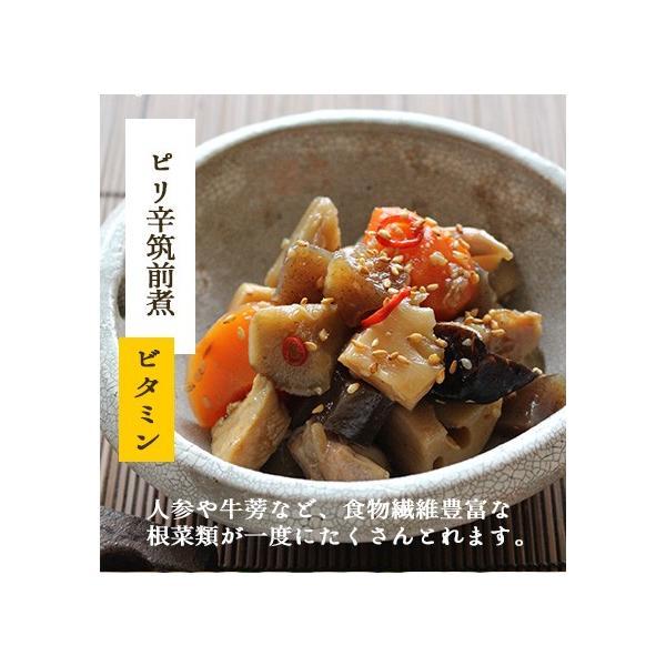 お試しセット 8種類 惣菜 セット (お試し おかず 惣菜 煮物 国産 無添加 ご飯 初めて ポイント 消化  送料無料)|okawari|09
