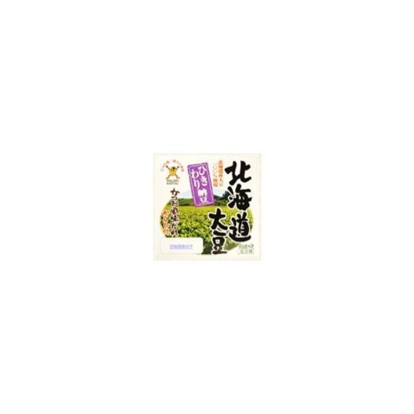 北海道産ひきわり納豆 【8パック(1パック2コ組)】