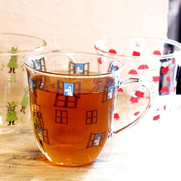 ムーミン 耐熱 腰丸 マグカップ 325ml  【MOOMIN】 紅茶 コップ グラス タンブラー 食器|okayulabo