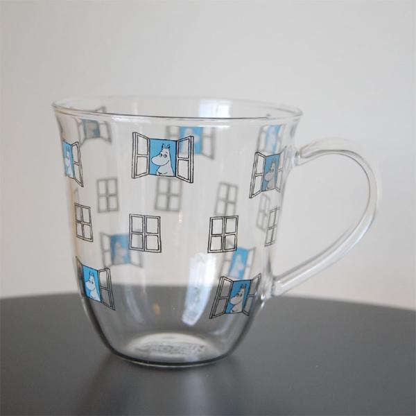 ムーミン 耐熱 腰丸 マグカップ 325ml  【MOOMIN】 紅茶 コップ グラス タンブラー 食器|okayulabo|02