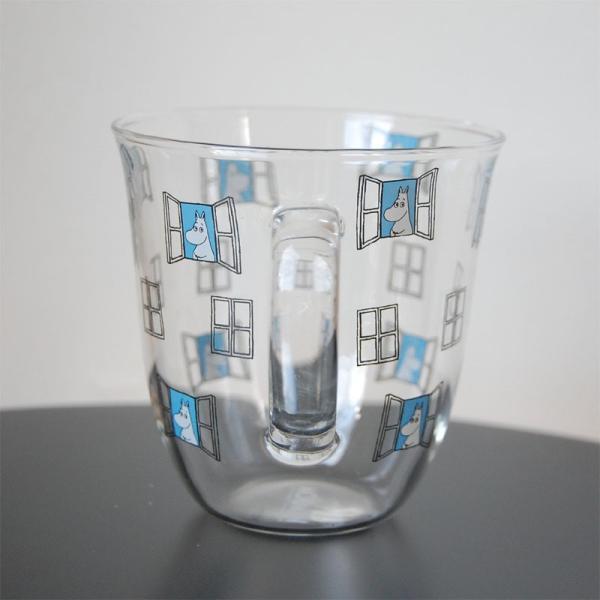 ムーミン 耐熱 腰丸 マグカップ 325ml  【MOOMIN】 紅茶 コップ グラス タンブラー 食器|okayulabo|03