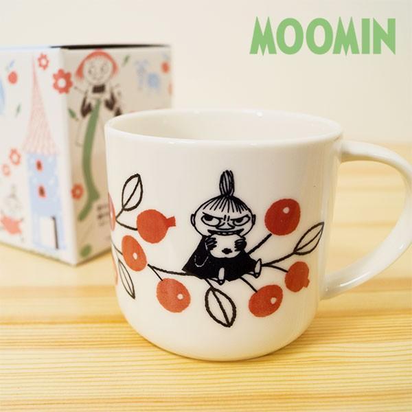 ムーミン バレーマグカップ(ベリー) 北欧おしゃれ&かわいいマグカップ【MOOMIN】コップ/食器/ミイ/リトルミイ 祝い 誕生日 贈り物 退職 結婚 記念 引っ越し|okayulabo