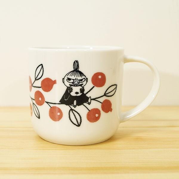 ムーミン バレーマグカップ(ベリー) 北欧おしゃれ&かわいいマグカップ【MOOMIN】コップ/食器/ミイ/リトルミイ 祝い 誕生日 贈り物 退職 結婚 記念 引っ越し|okayulabo|02