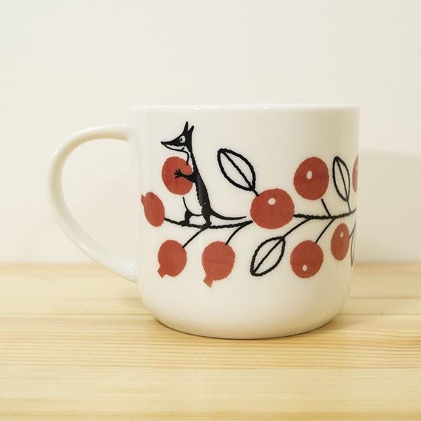 ムーミン バレーマグカップ(ベリー) 北欧おしゃれ&かわいいマグカップ【MOOMIN】コップ/食器/ミイ/リトルミイ 祝い 誕生日 贈り物 退職 結婚 記念 引っ越し|okayulabo|03
