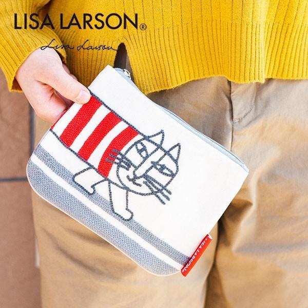 リサラーソン ウォークイン マイキー ポーチ レディースのかわいい小さめポーチ【LISA LARSON】小物入れ/化粧ポーチ/収納/ファスナーポーチ 母の日 父の日 祝い