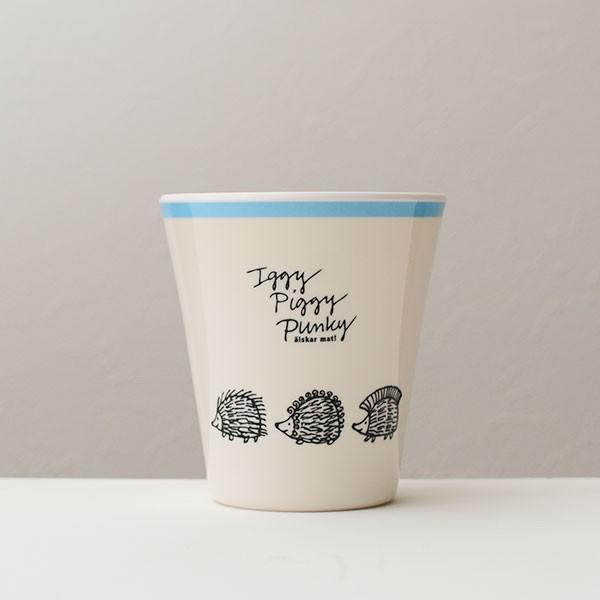 リサラーソン ハリネズミ メラミンタンブラー(270ml) 北欧おしゃれ&かわいいコップ【LISA LARSON】コップ/食器/カップ/キッチン/軽量/軽い/割れにくい 祝い 誕|okayulabo|02