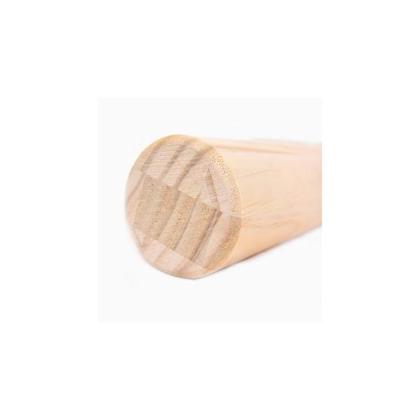 パイン集成材 丸脚 長さ700x直径80mm|okazaki-seizai|03