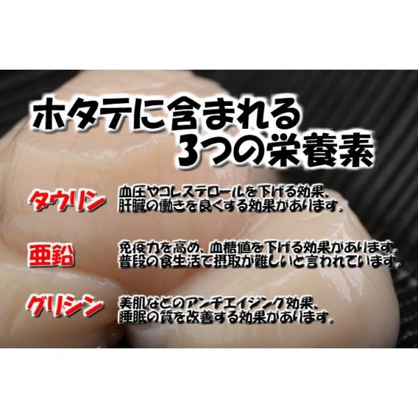 ホタテ 貝柱 大粒 北海道産 個別冷凍 ギフト 1kg 割れ欠け無し 帆立 ほたて 送料無料 okhotsk-ajikikoh 05
