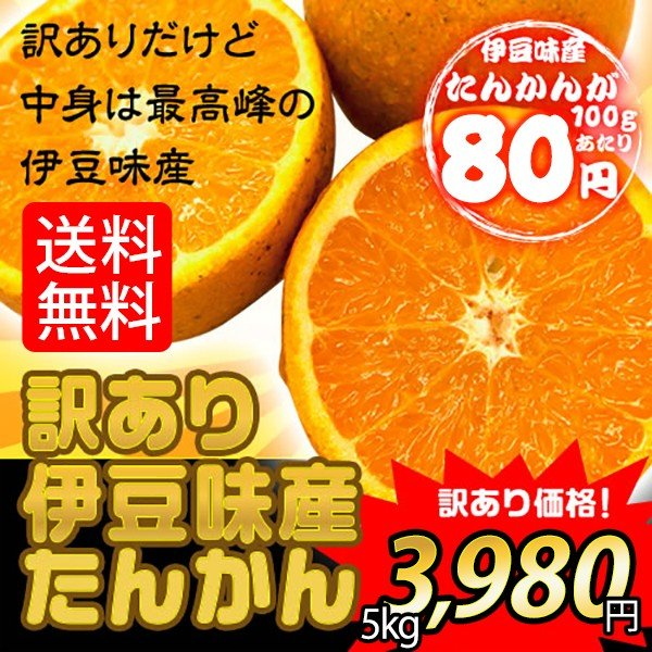 【50セット限定】沖縄みかん 沖縄県伊豆味産たんかんワケあり 5kg|oki-toku-y