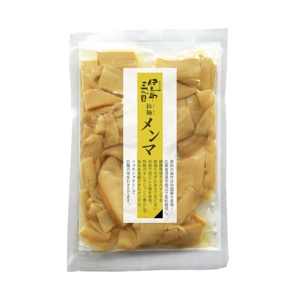 伊之助三代目 拉麺メンマ (60g/1袋)|okina-sato|02