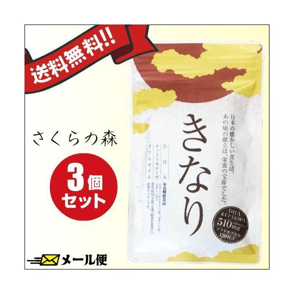 (送料無料)  さくらの森 きなり 120粒 3袋セット メール便|okinawangirls