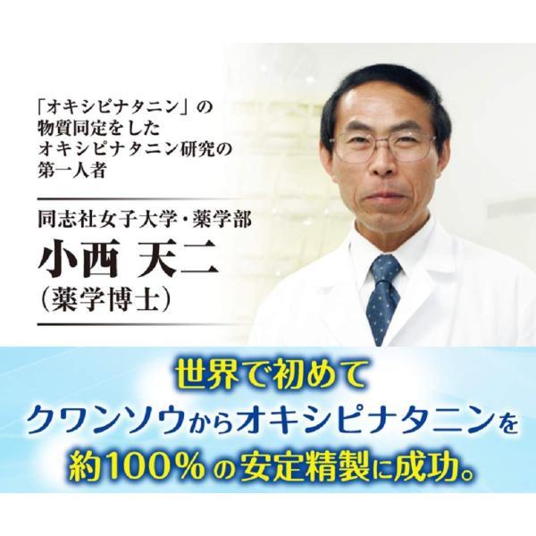 休息サプリ 特殊アミノ酸オキシピナタニン[クワンソウエキス] [睡眠改善剤で特許取得] ぐっすりん 1箱 20日分|okinawasakata|03