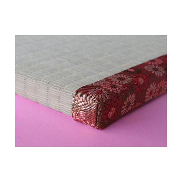 ベッド用畳 シングルサイズ 畳のみ  長さ200cm×幅100cmまで1枚しあげ 厚み2.5cm オーダーサイズ|okitatami|02