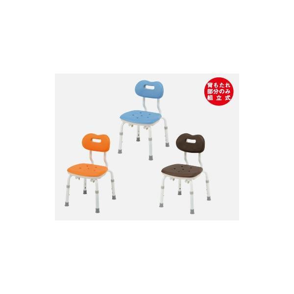 風呂椅子 パナソニックシャワーチェア ユクリア コンパクトスツール背付N PN-L41121 背もたれタイプ 据え置きタイプ|okitatami