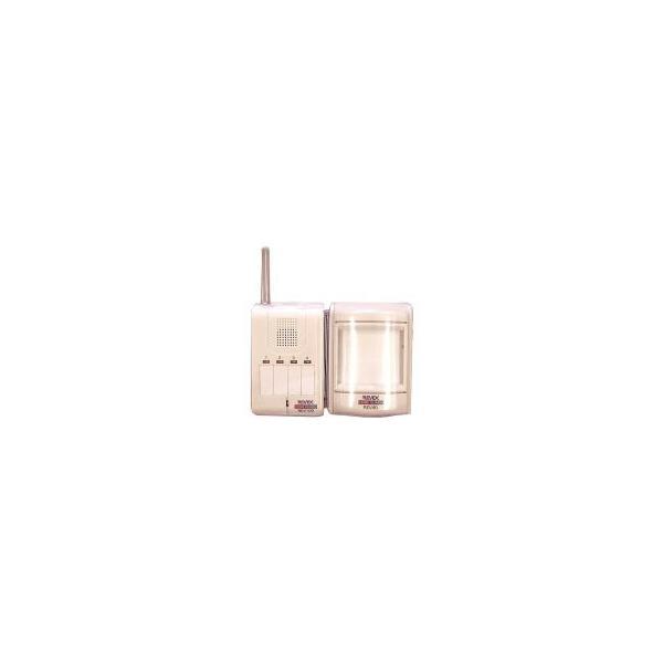 リーベックスREV140モーションセンサー&携帯受信チャイム セット +子機用9V角型アルカリ電池×1個 okitatami