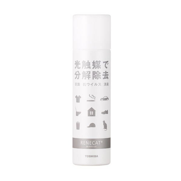 光触媒 ルネキャットスプレー小60g 布・繊維用  東芝マテリアル|okitatami