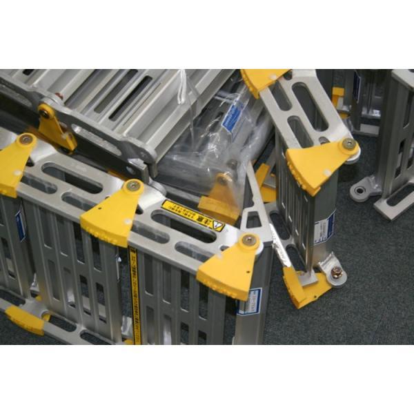 巻き取り式スロープ・渡し板 スロープビルド2本タイプ 214cm (組み立て式)  屋外用段差解消・適応段差高さ:約15〜23cm okitatami 05