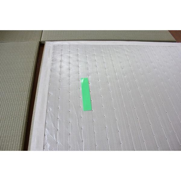 畳 琉球畳 縁なし 置き畳 ユニット畳 座100 2枚セット サイズ:1000×1000mm okitatami 03