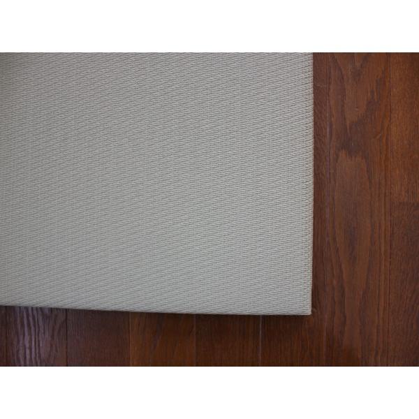 畳 断熱 防音 B級 へりなし 置き畳 和紙座80+ 銀白色綾織り 自社生産職人手作り ユニット畳|okitatami|02