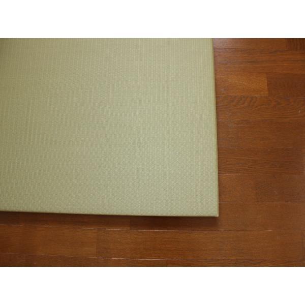 畳 断熱 防音 B級 へりなし 置き畳 和紙座80+ 銀白色目積 自社生産職人手作り ユニット畳|okitatami|02