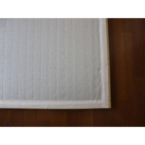 畳 断熱 防音 B級 へりなし 置き畳 和紙座80+ 金銀色綾織り 自社生産職人手作り okitatami 04