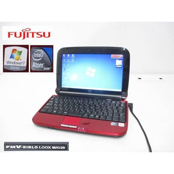 S8817S富士通FMVLOOXM/G20AtomN4501.66GHz7Starter32bit搭載リカバリ済ノートパソコン現