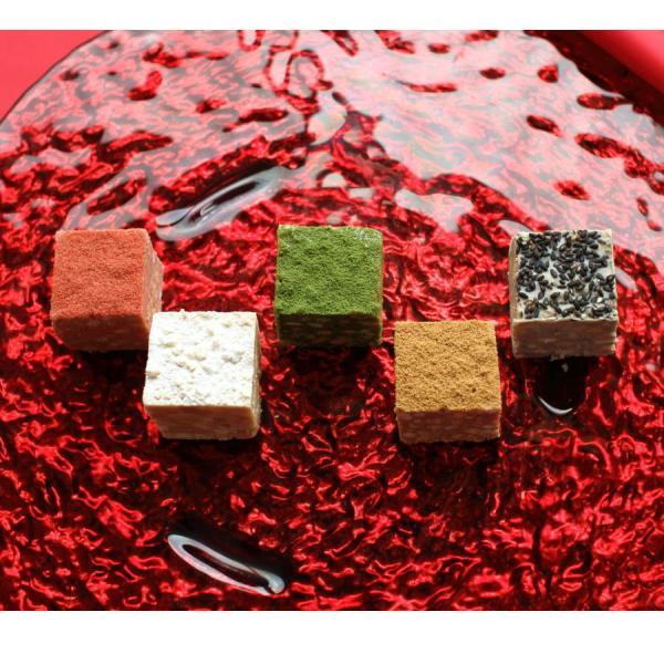 バレンタイン チョコ 和しょこら 5個詰め合わせ(手提げ袋付き) ジョリーフィス 広島 人気 チョコレート 手作り おしゃれ 義理チョコ (VD)|okodepa|06