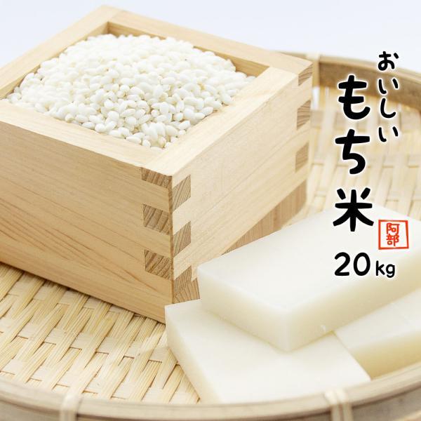 もち米 20kg (5kg×4袋) 送料無料 新米 令和2年産 国内産 餅米 山形県産 【別途送料加算地域あり】