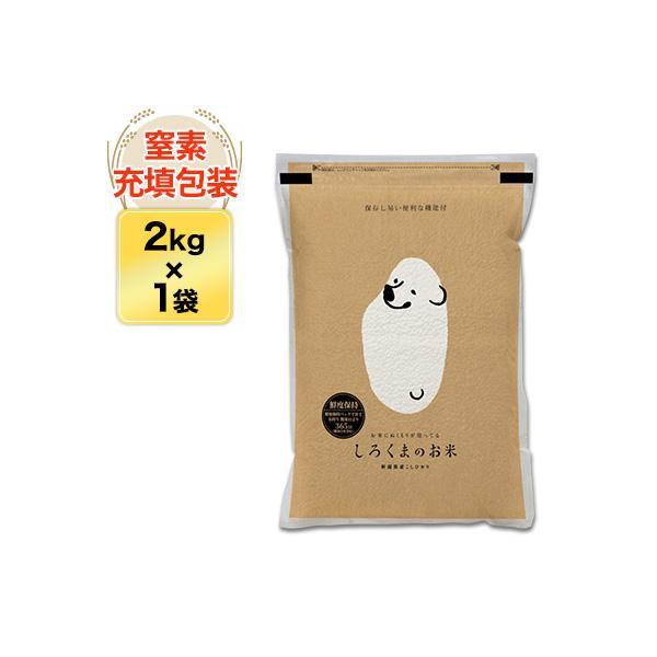 新米 白米 2kg 新潟県産 コシヒカリ 2kg 令和3年(2021年) 米袋は真空包装【即日出荷】