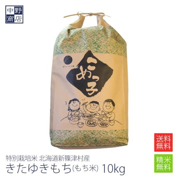 令和2年度産 お米 10kg もち米 はくちょうもち 特別栽培米 北海道産新篠津村 生産者 井伊 秀一さん 節減対象農薬5割減 化学肥料 5割減