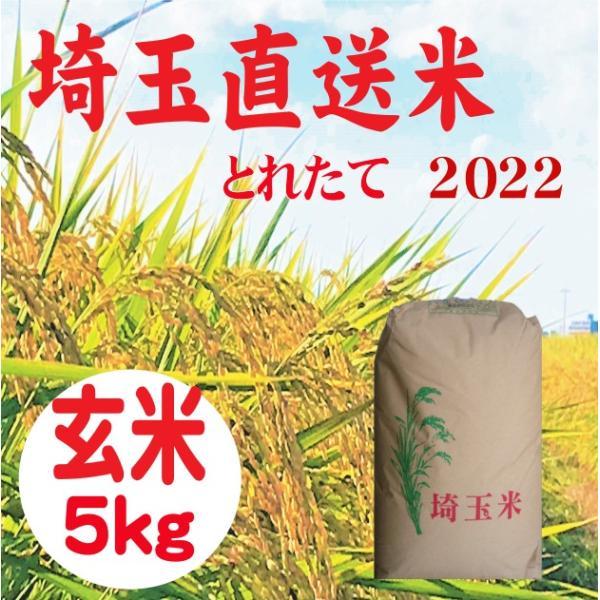 お米#玄米5kg埼玉直送の米