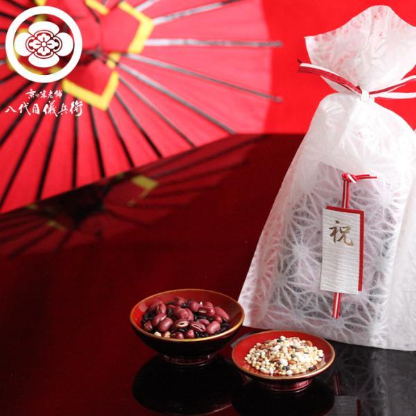 内祝い 結婚内祝い 引出物 プチギフト 華かざり「祝」 八代目儀兵衛|okomeya