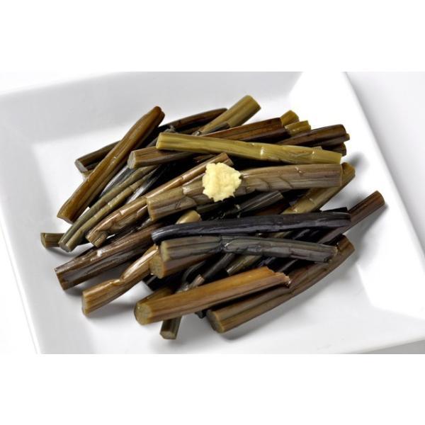 天然 山菜 ワラビ(紫わらび どじょう蕨)1kg 太く柔らく滑り強く香り高いのが自慢  春の味覚 山の幸 採りたてを産地直送|okuaizushunsaikan-y|05