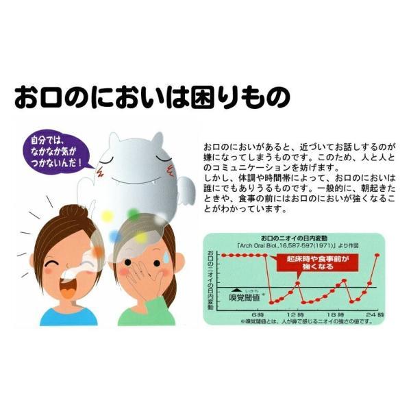 口臭ケア グリコ ブレオEX (BREO EX) 66g×1袋 口中ケアタブレット 歯科専売品|okuchi|03