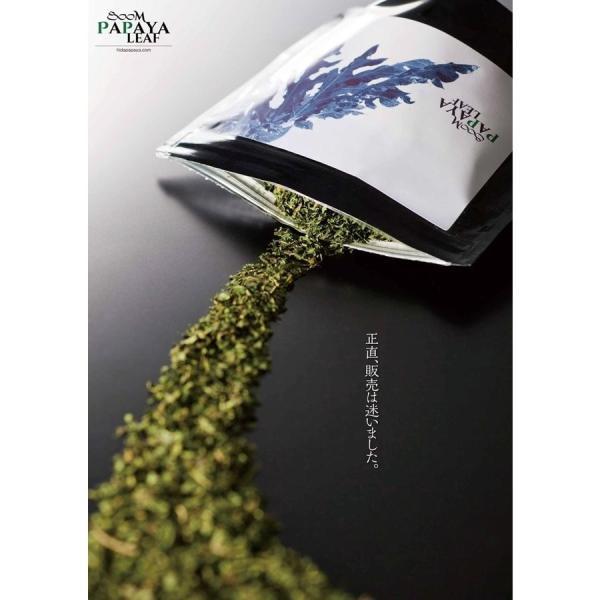 飛騨産のパパイヤ茶(パパイヤリーフ)50g okuhida-fram 06