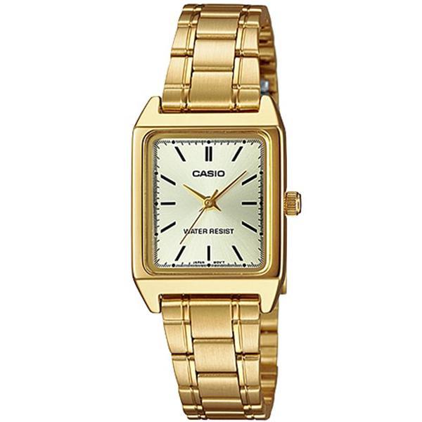 【箱なし】【メール便選択で送料無料】海外CASIO 海外カシオ 腕時計 LTP-V007G-9E レディース BASIC ANALOGUE ベーシック アナログ