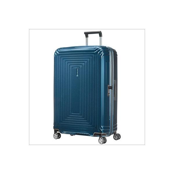 【並行輸入品】【ラッピング不可】Samsonite サムソナイト 65754 1541 75cm 94L スーツケース Neopulse Spinner ネオパルス スピナー メタリック ブルー