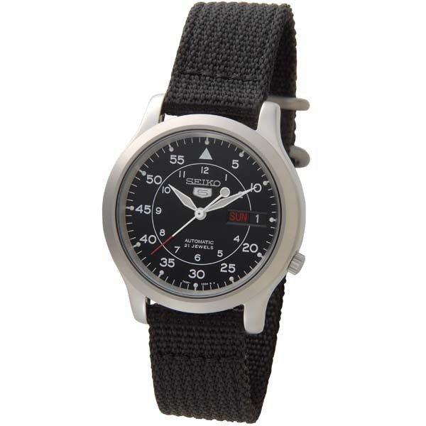 海外SEIKO海外セイコー腕時計SNK809K2メンズSEIKO5セイコーファイブミリタリー自動巻き