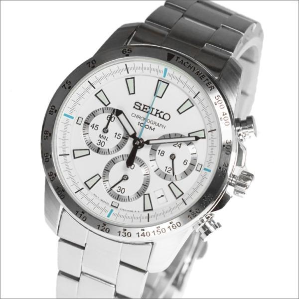 正規品 海外SEIKO海外セイコー腕時計SSB025P1メンズCHRONOGRAPHクロノグラフ